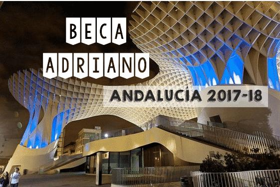 Beca Adriano 2017 2018