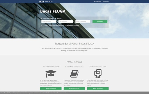 Becas feuga requisitos plazos