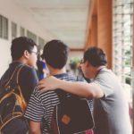 Dos estudiantes