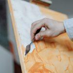 Pintando cuadro